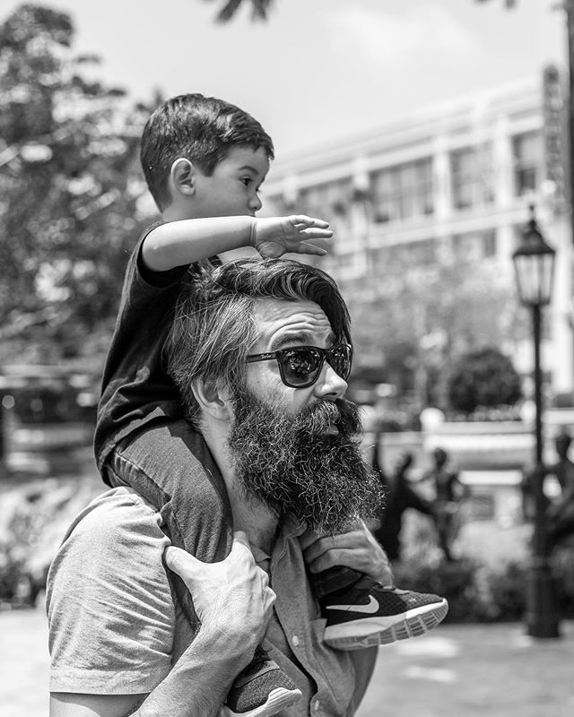 Daddy Day at @americanabrand ☀️ (@davidcoephoto)