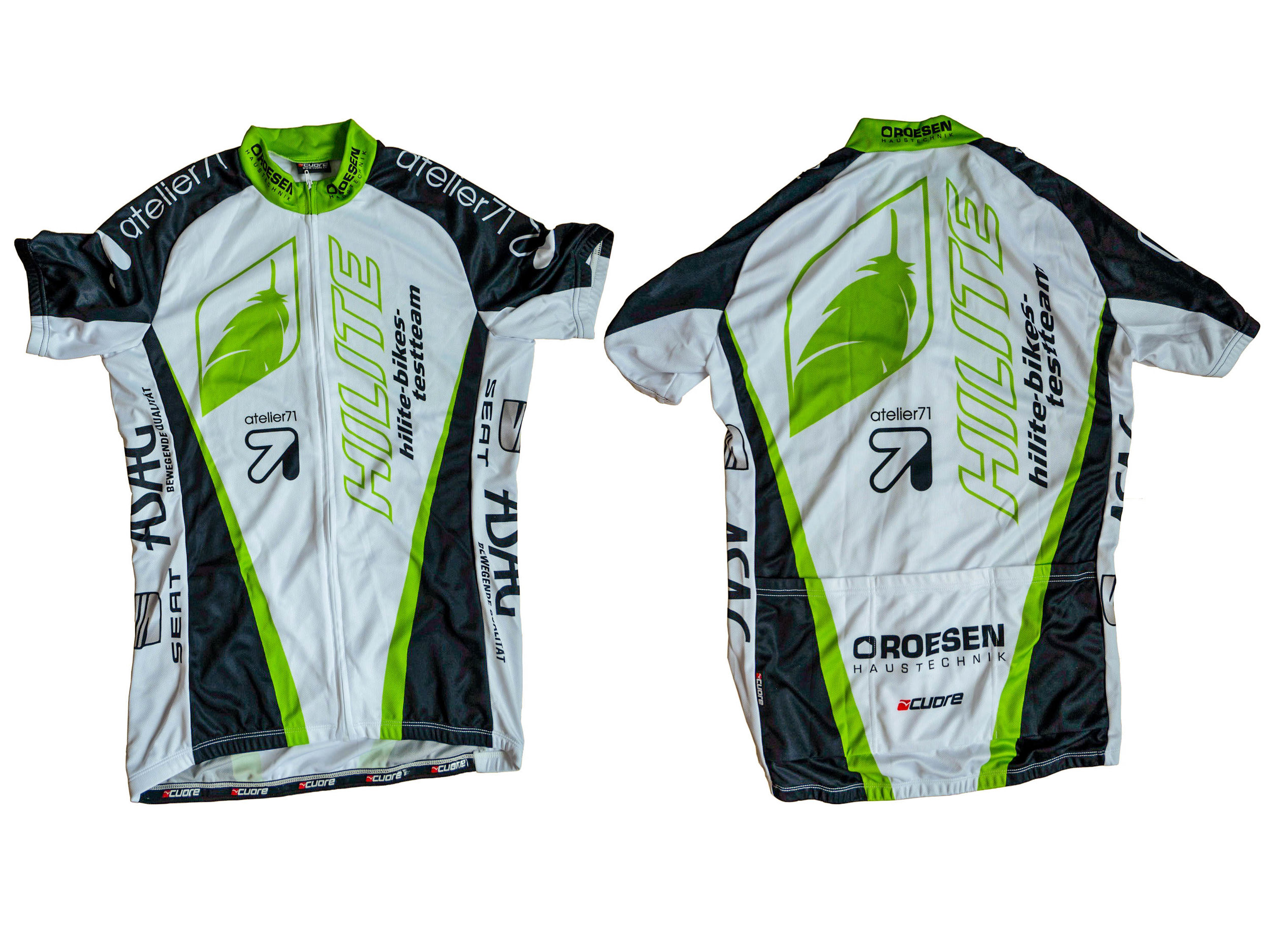 Hilite-Bikes bicycle jersey
