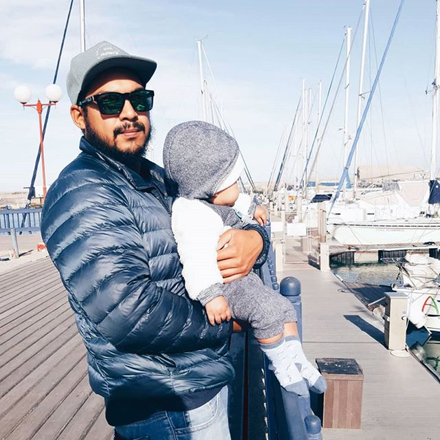 Today's post is a little different, since it's dedicated to this guy looking ultra cool😎 my best friend, my husband, my baby daddy🥰 who turns 27 years old today.  He has been my main supporter from day one, carries me when I'm struggling to stand on my own, and never fails to make me smile with his awkward dad jokes😂  Because of him, I have found my passion and purpose in this world.  With his help I have found the courage to let go of the things that doesn't bring peace into my life.  With his support and steady hand holding mine, I could breathe through the pains of labor with ease, and birth our beautiful baby boy.  Life has thrown many obstacles our way and it hasn't always been the smoothest ride. But together we are strong.  Together, we have survived.  I thank Allah every single day for allowing our paths to cross and tangle together for as long as it has.  It has been an epic journey.  I cannot wait to see what the next year will bring for you, Taufeeq🥰  Loving you more and more each day...