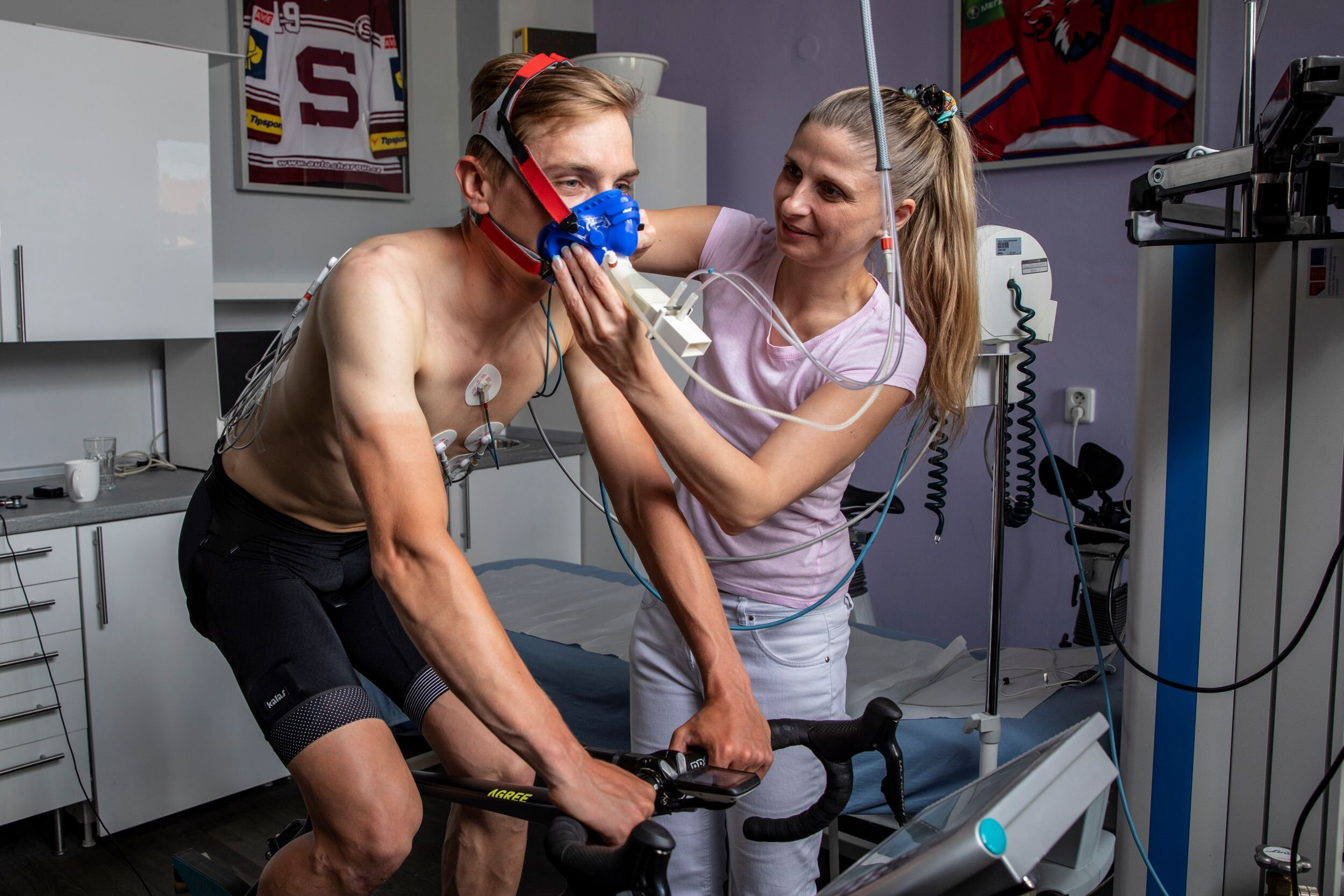 Vyšetření spiroergometrie při sportovní prohlídce
