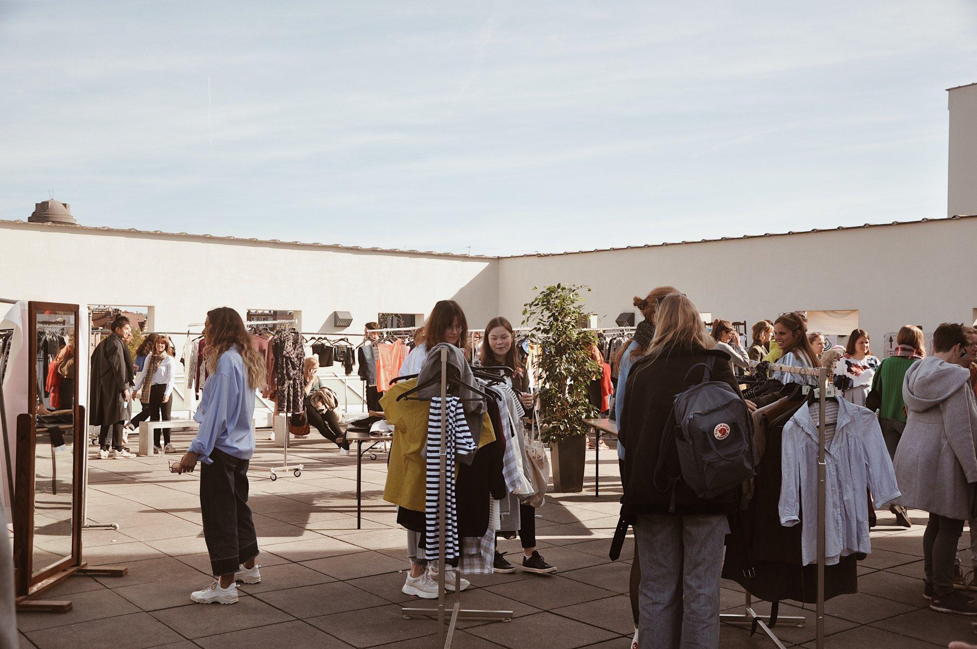 Antwerp Fashion Exchange, MUHKA, foto door Pablo Cepeda