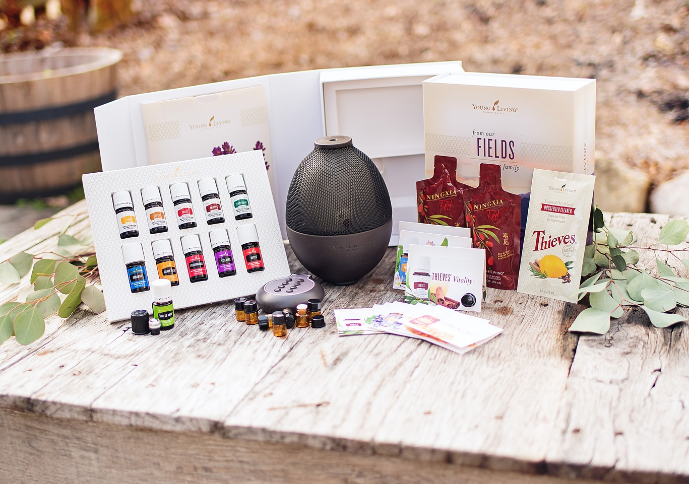 Premium Starter Kit with Rainstone Diffuser
