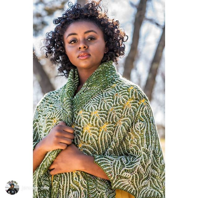 I took a class in brioche last week just because my friend designed this incredible shawl! ❤️😃🎉 . repost via @instarepost20 from @january_one 🍃 THE SUSURRATE SHAWL 🍃 is now live on @hi.ravelry!!! (The link is in my profile!) . 💚 I'm releasing it today, June 4th, on my beloved grandmother's birthday. She would have been 98 years old today. In dedication to her, the pattern is on sale for the next 98 hours for $6.40 (regular price $9.) Please use the coupon code RISSIE to purchase the pattern on sale.💚 .  This past year has been an incredible, mind blowing experience! Thank you so much to my expert tech editor Meaghan @notsorryknitter, my amazing graphic designer  Alicia @aliciakellydraws, and my lovely friend Gale @galezucker for the ridiculously amazing photographs. And, of course, thank you to Tina @bluemoonfiberarts, for dyeing me the yarn of my dreams. 💚💚💚 .  And THANK YOU ALL for your amazing support over the years. I cannot tell you how much I appreciate your being here with me. Ok. Now I'm going to spend the day crying. THANK YOU!!! . 📸 by @galezucker Gorgeous modeling by @iammayaj_ and @sweetjsphn. THANK YOU!