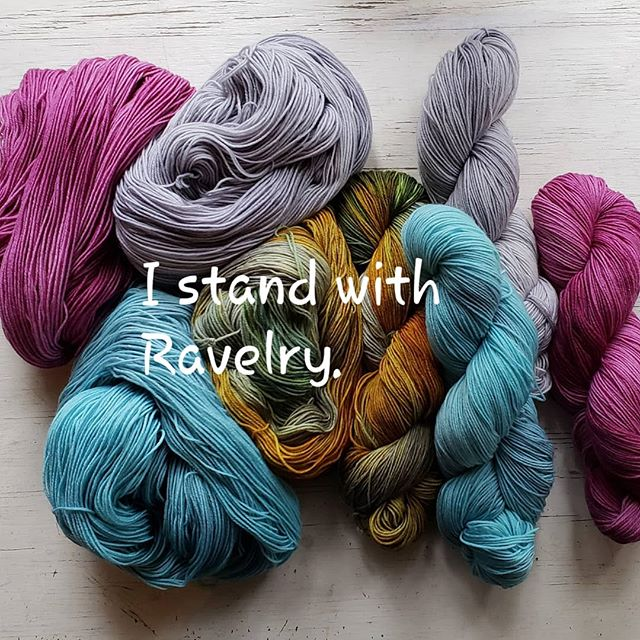 #istandwithravelry . It's been an emotional couple of days for me, personally, and it took some time for the fog to lift, I guess, but there is no question about this! I am so happy to support a stance against hate. Buy some patterns, make a donation, hug your neighbor, be kind and happy and helpful and thoughtful. Love. ❤️ Knit. 🧶 Crochet. @hi.ravelry