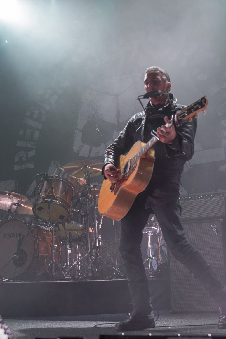 Black Rebel Motorcycle Club performing at The Fillmore in San Francisco, CA.