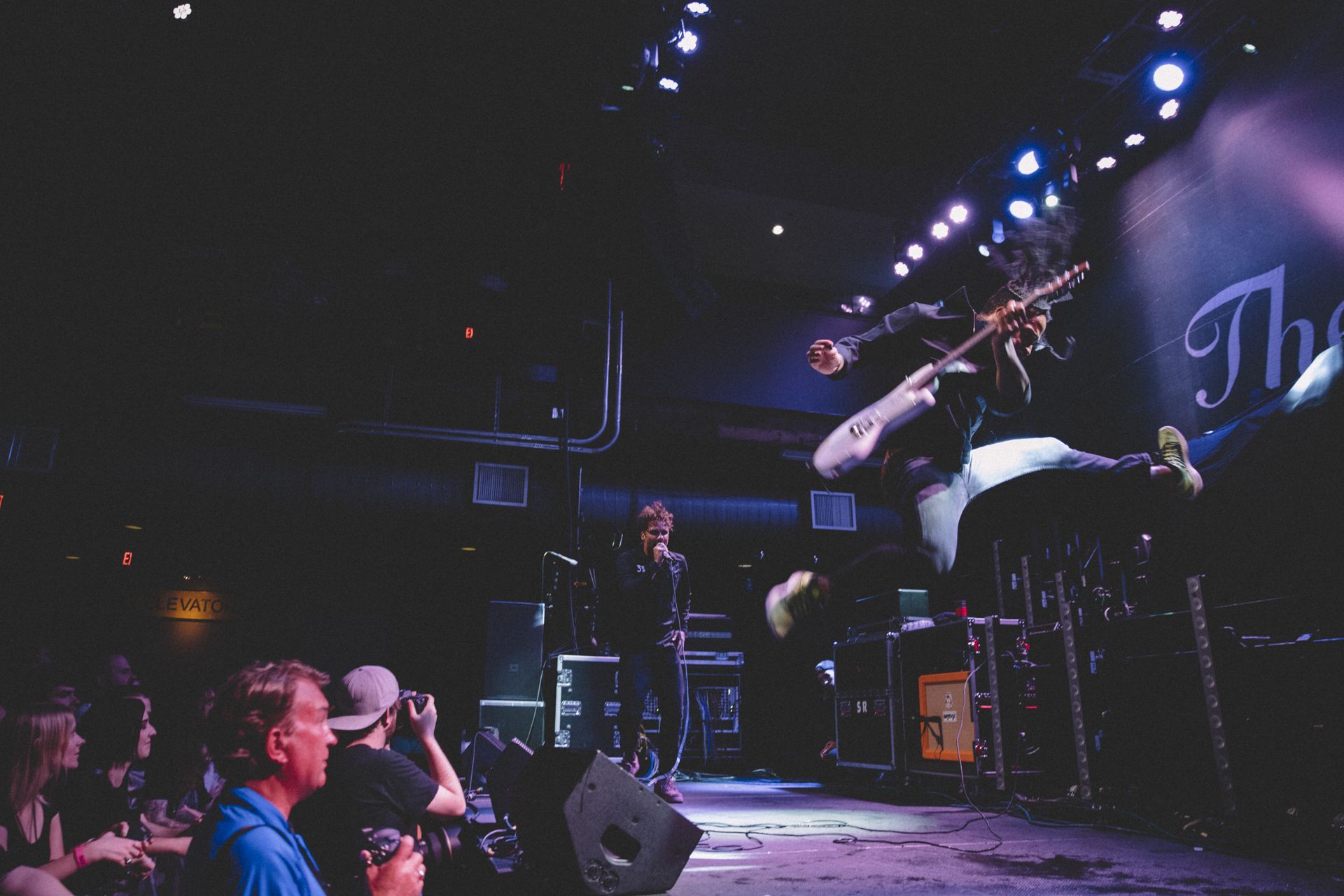 The Fever 333 performing at Mercury Ballroom in Louisville, KY.