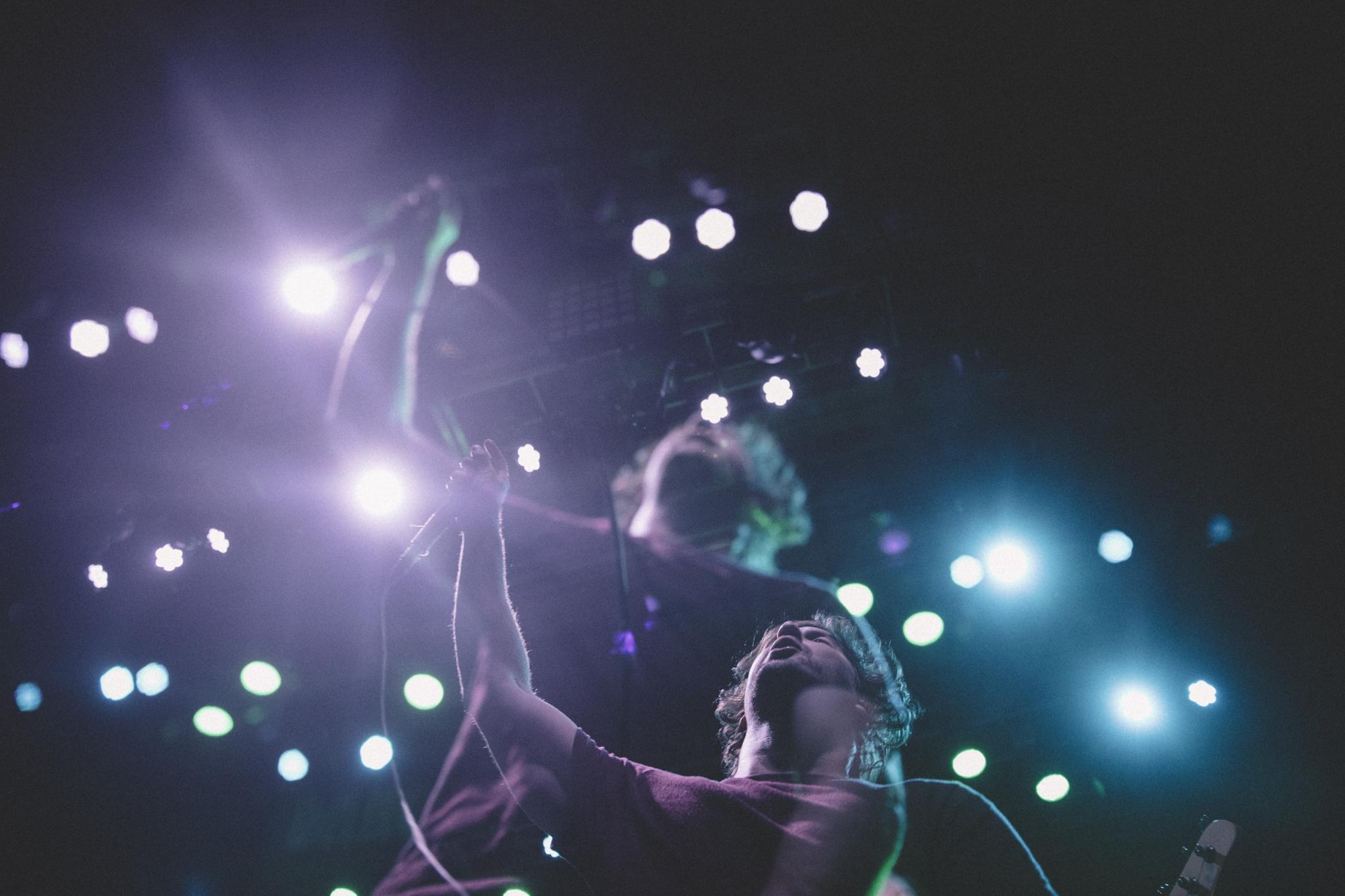 Dance Gavin Dance performing at Mercury Ballroom in Louisville, KY.