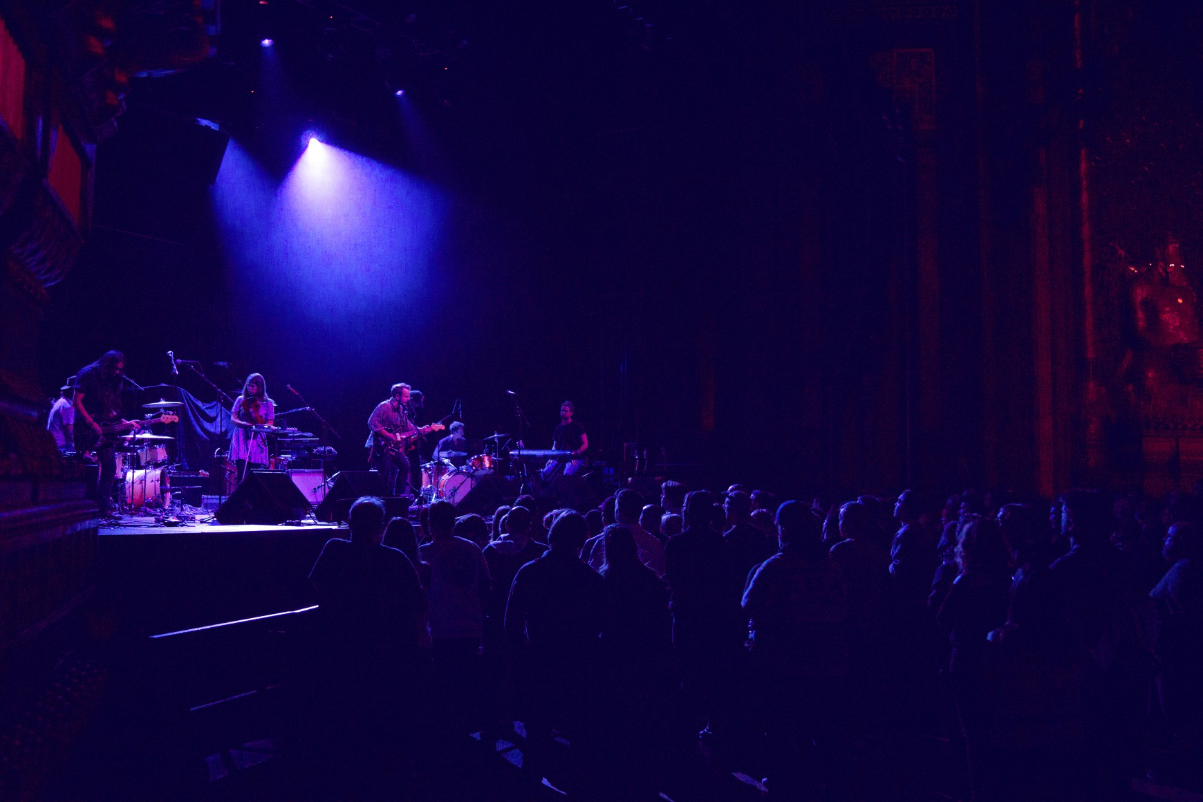 Typhoon performs at The Fox Theatre in San Francisco, CA.