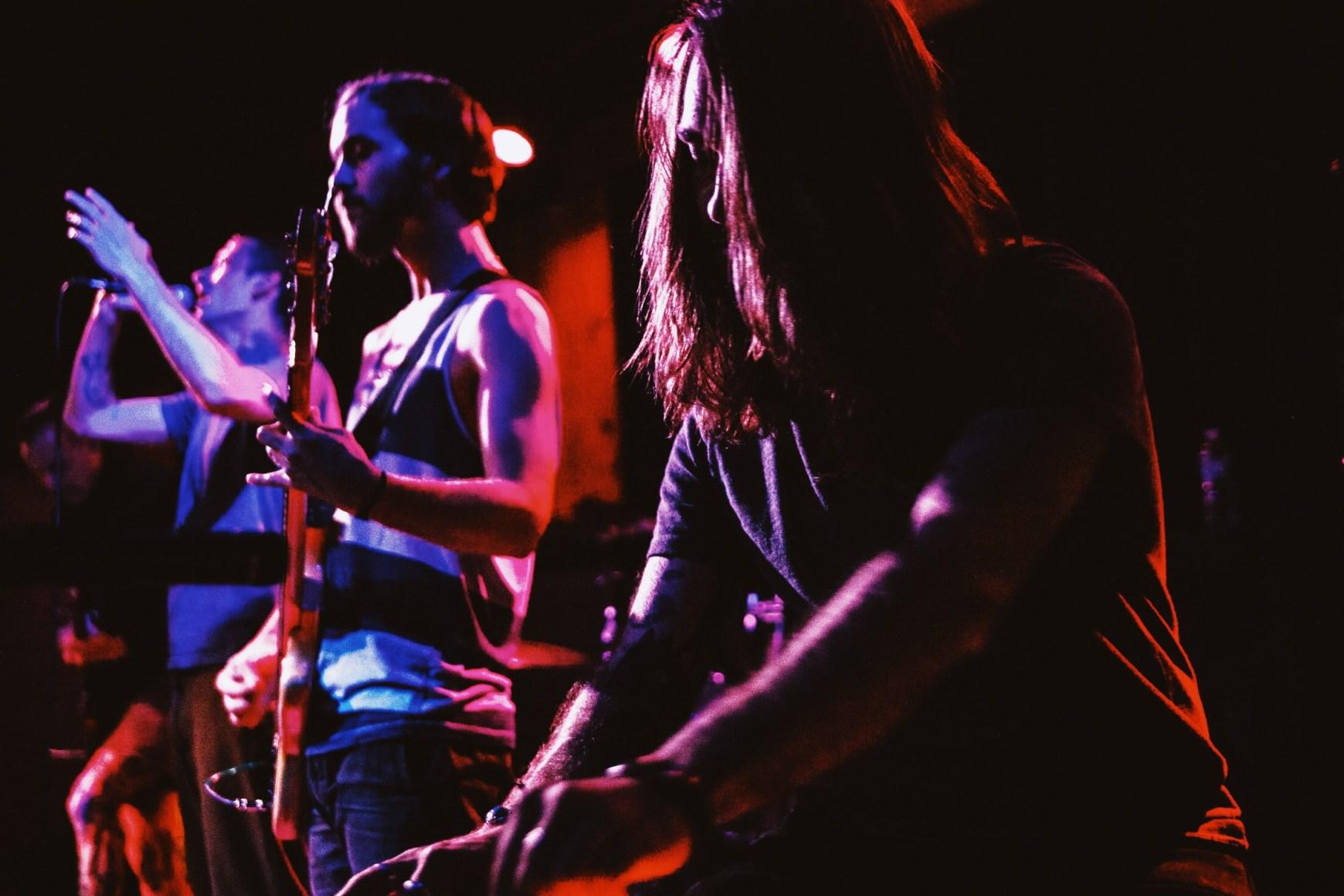 Sannhet performing at Barracuda in Austin, TX.