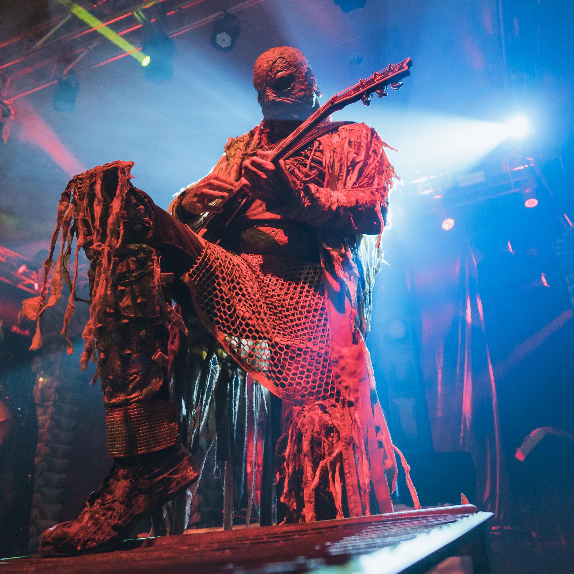 Lordi performing at Sala Santana 27 in Bilbao, Spain.