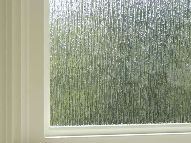 Rain Glass Obscured Option From, Rain Glass Bathroom Window