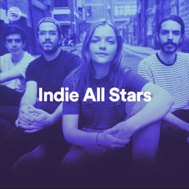 Gah so much love from @spotifycanada & @spotify // Porto Cristo featured in Indie Allstars & New Music Friday!