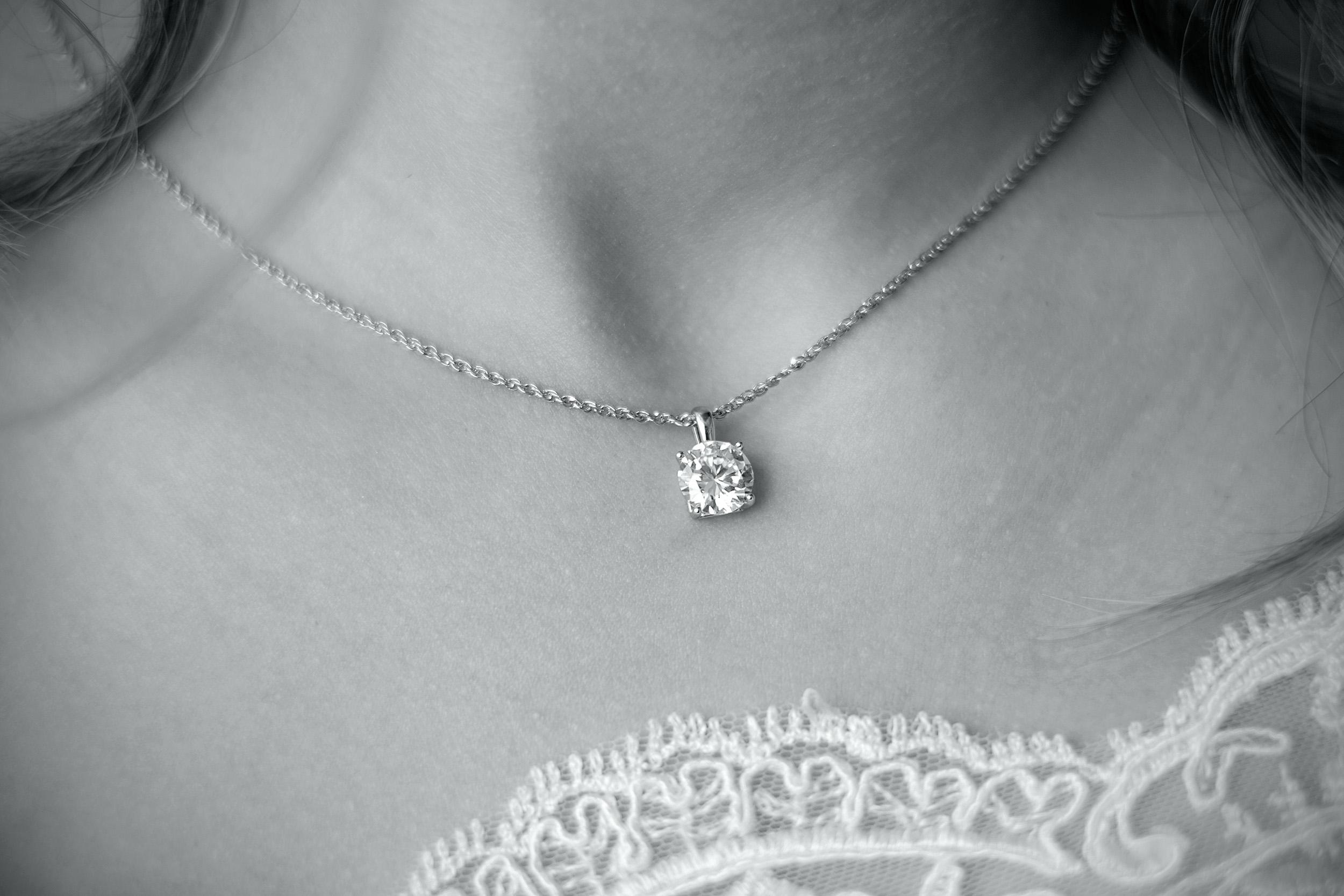 Classic Diamond Pendant