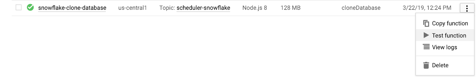 Automating Your Snowflake Database Cloning with GCP — erteso