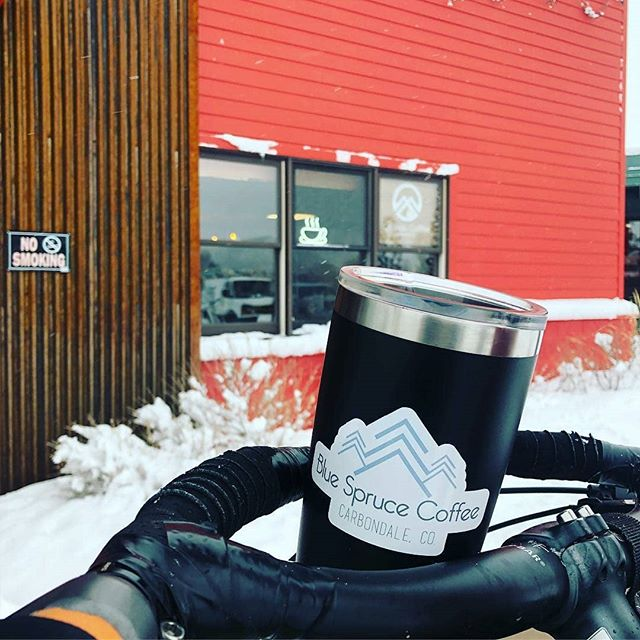 Reposted from @cleanenergyeconomy -  #WinterBiketoWorkDay is THIS Friday, Feb 8th from 7-9am at the Carbondale Park and Ride. Featuring Fat bikes and bacon from @whycycles, delicious coffee from @bluesprucecoffee, shop time coupons from @wayofcompassioncenter bike project, and snacks and swag from @ride_rfta. It's going to be a good time. Wear a helmet please, it's slick out here! - #regrann