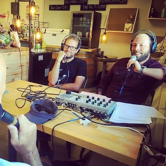 Reposted from @maitribrandon -  Deep Breakfast LIVE from @bluesprucecoffee at the @thirdstreetcenter. Tune into kdnk.org Friday from 12-2!!! - #regrann
