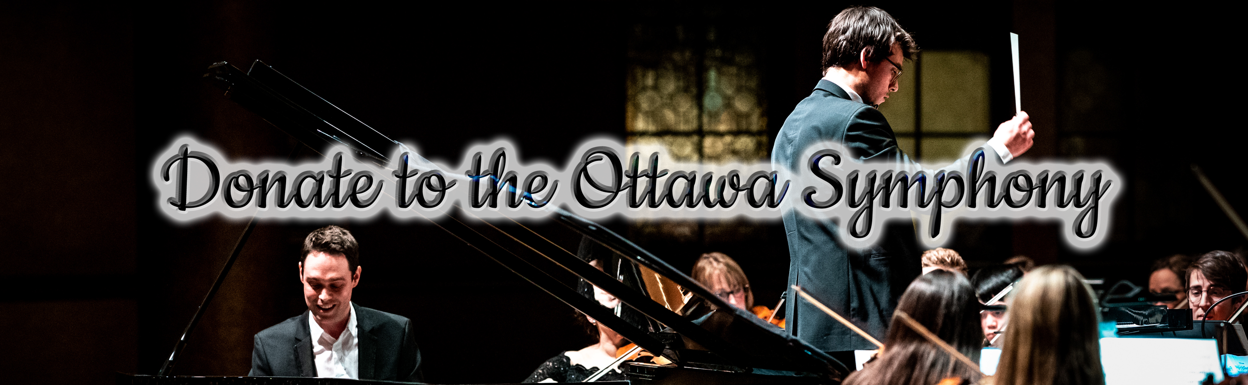"""Your donation to the Ottawa Symphony Orchestra  ensures we can continue staging the large-scale orchestral works you love. Every donation also supports our professional, local, musicians, as well as emerging musicians in our Mentorship Programs, many of whom experience professional """"firsts"""" through playing with the Orchestra."""