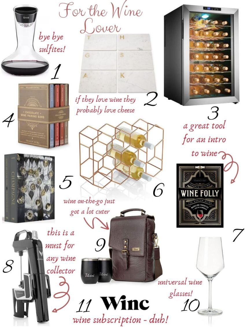 Gift Guide for Wine Lovers, Pt. 2
