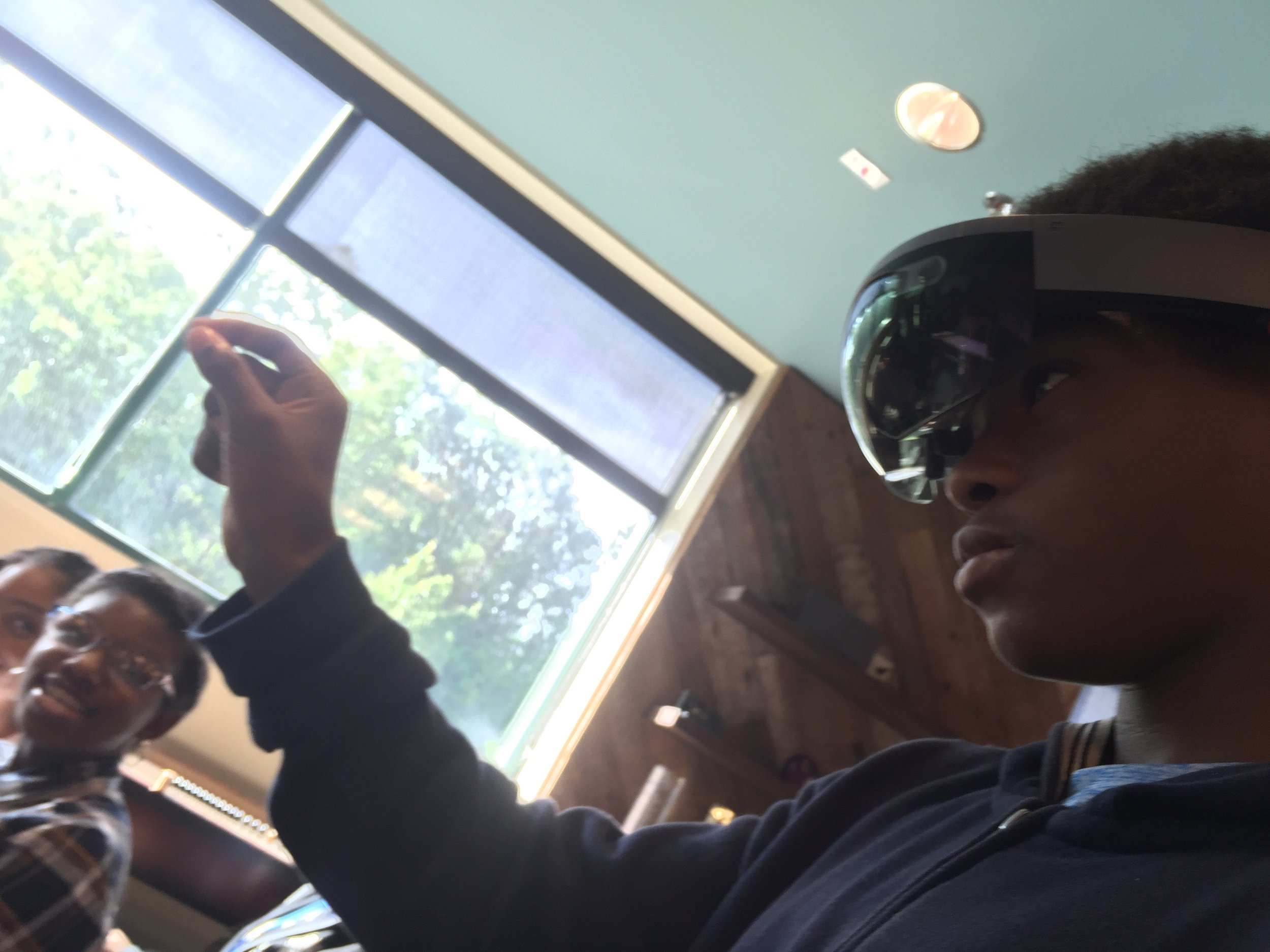 Virtual reality modeling with DPR construction, 2017