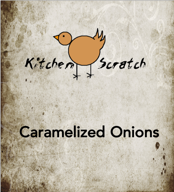 HOW TO CARAMELIZE ONIONS -