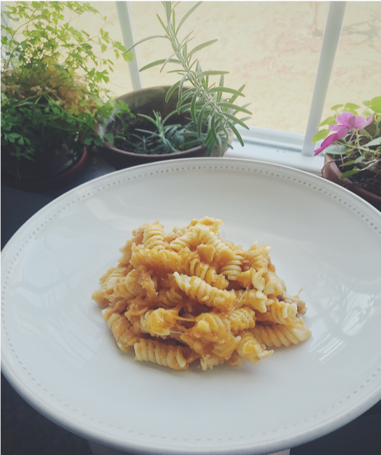 THE RICHEST MAC (ROTINI) AND CHEESE -
