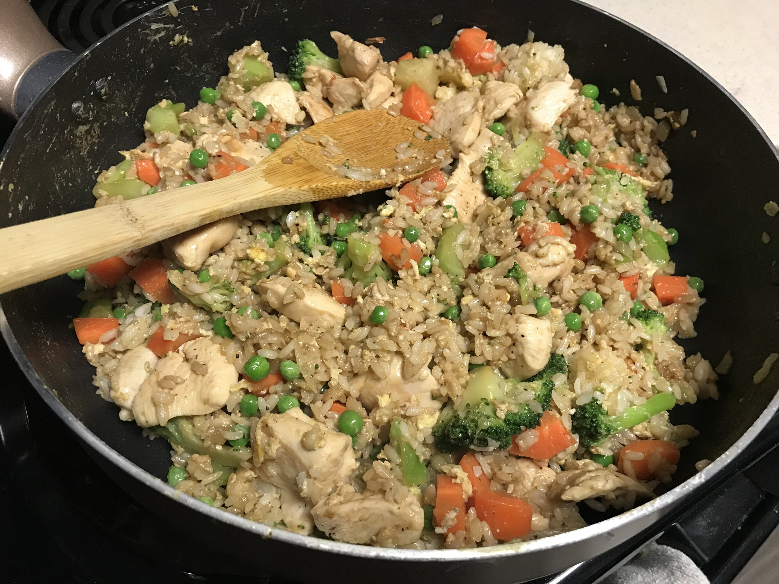 Kitchen Scratch Weeknight Chicken Fried Rice