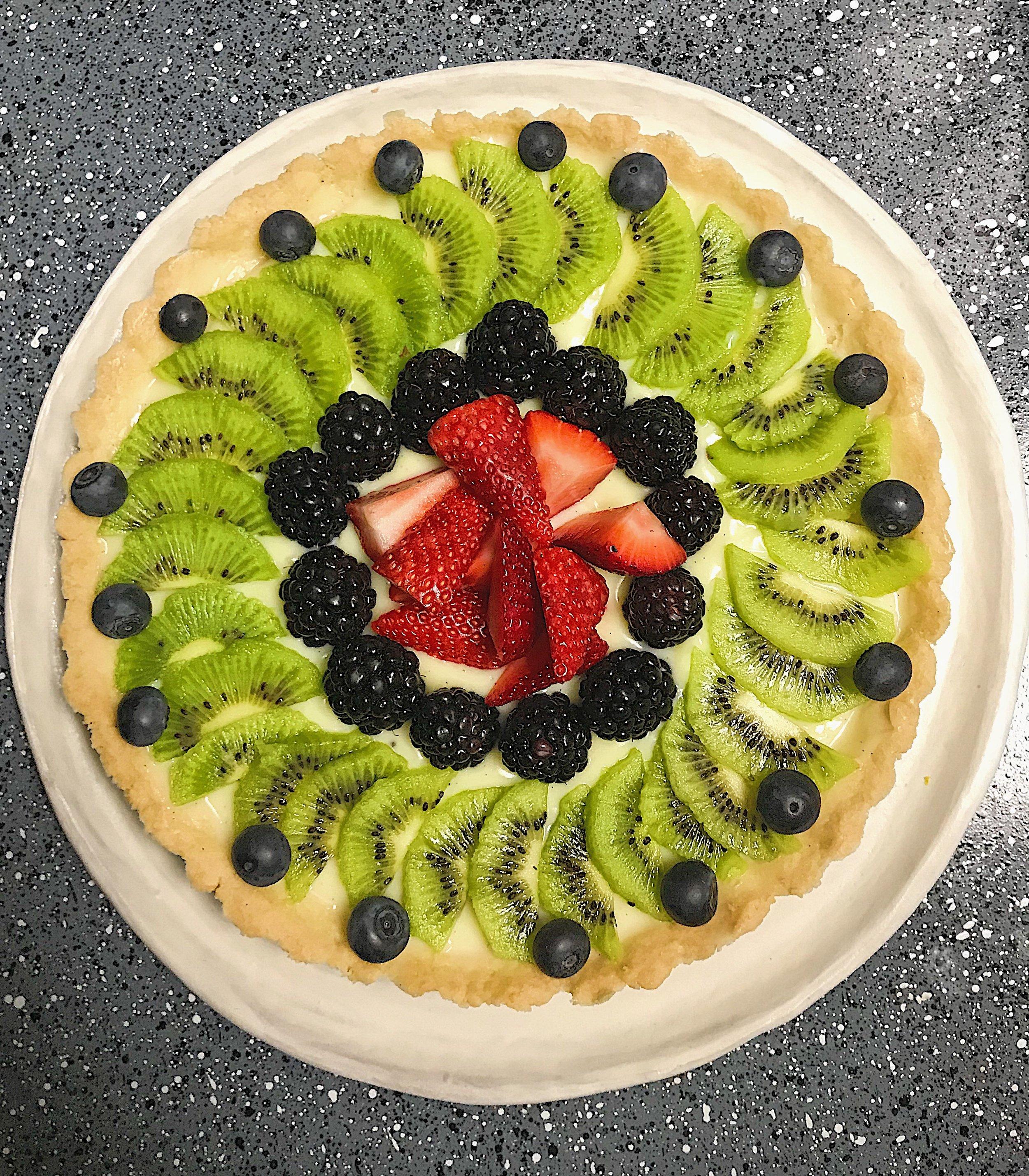Kitchen Scratch Fresh Fruit Tart