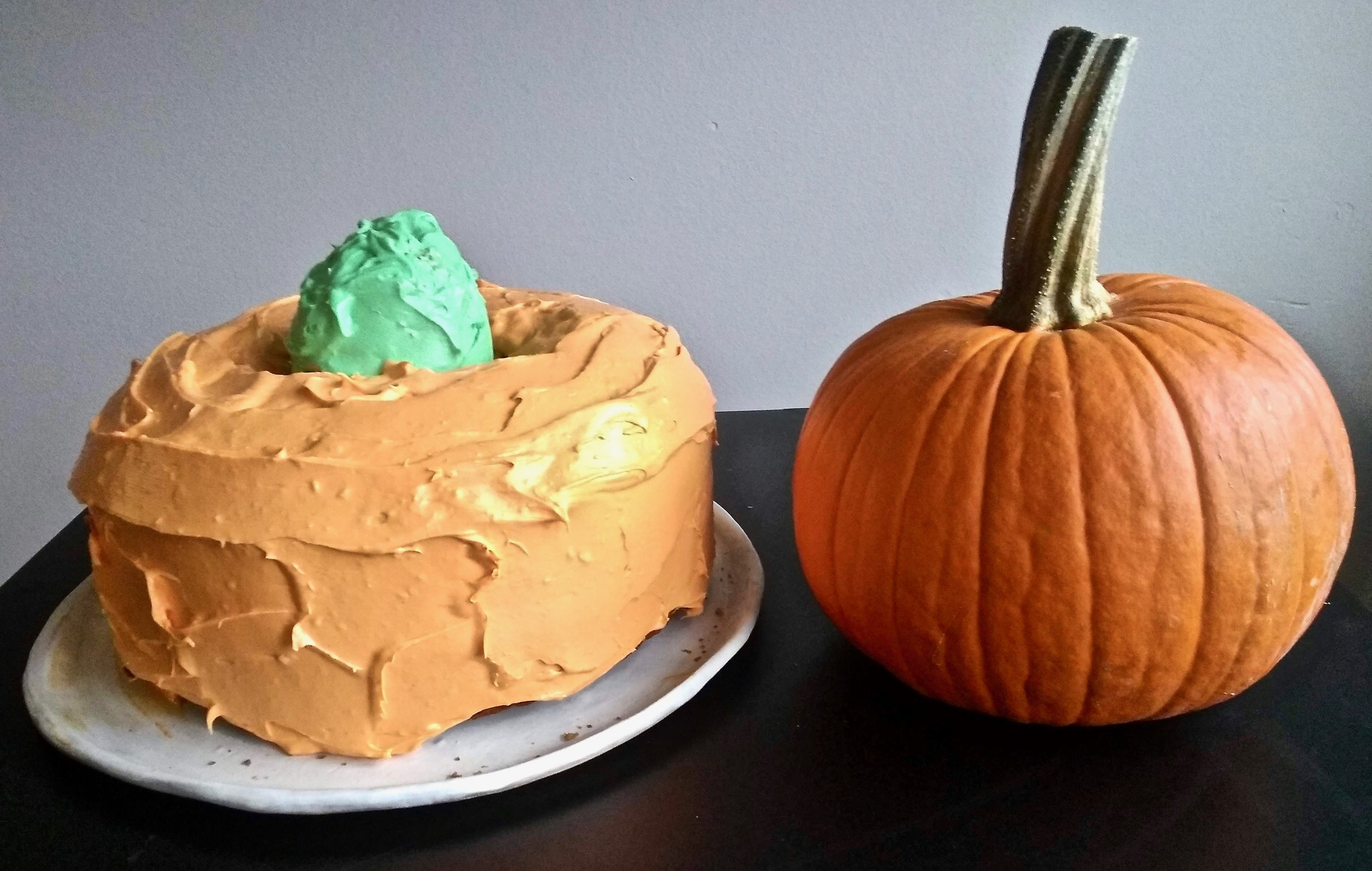 Kitchen Scratch Pumpkin Bundt Cake Final Product