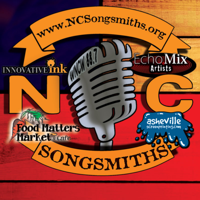 Fresh Music! - NC Songsmiths is a collective of premiere songwriters from North Carolina. This collective of 30+ handpicked songwriters from across the state of North Carolina spans assorted genres. Artists like Nina Simone, Doc Watson, The Avett Brothers, and Carolina Chocolate Drops have risen to international success, cementing North Carolina as an apex for original music. Just as those artists come from all walks of life, each member of NC Songsmiths brings their own unique brand, sound, and story.The Western NC Songsmiths tour series is an event patrons can attend weekly at each venue without ever tiring of the material, as the Songsmiths are in a constant rotation throughout the year! EchoMix Artists handles all promotional aspects of this tour series, including local radio promotion, Facebook advertisements, print advertising, and postering. Check out our NC Songsmiths 2018 tour roster below!The NC Songsmiths shows are intended for the serious listener, giving way for the Songsmiths to reach into their extensive song vaults, bringing to life some of the very best original music from the Old North State.-------------------------------------------Booking Contact Western NC: Christina Chandler - cchandlernc@gmail.com or call/text +1-828-776-5042Songsmith Artist Contact: Brian Hill - echomixbookings@gmail.com or call/text +1-919-358-3159
