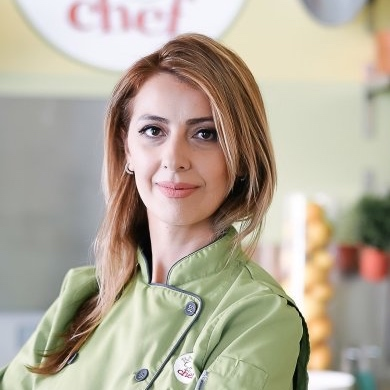 Rene Gonzales  - Nutrition Specialist, Chef & Founder of Bambino Chef Cooking School