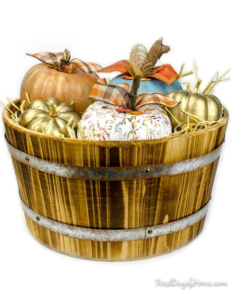 Upcycled-Dollar-Store-Foam-Pumpkins-in-Barrel.jpg