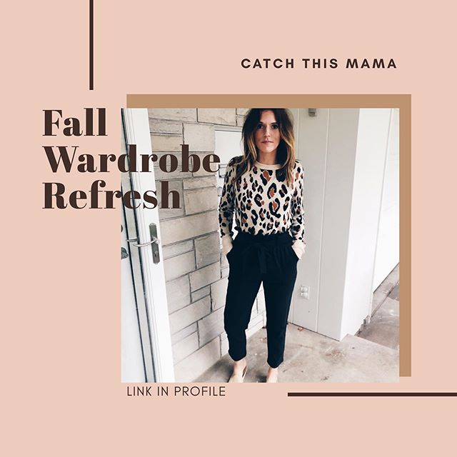Added some more stories of us wearing the @catchthismama Fall Intentional Wardrobe! Link in profile to purchase! Happy Friday & happy shopping! 😊🛍