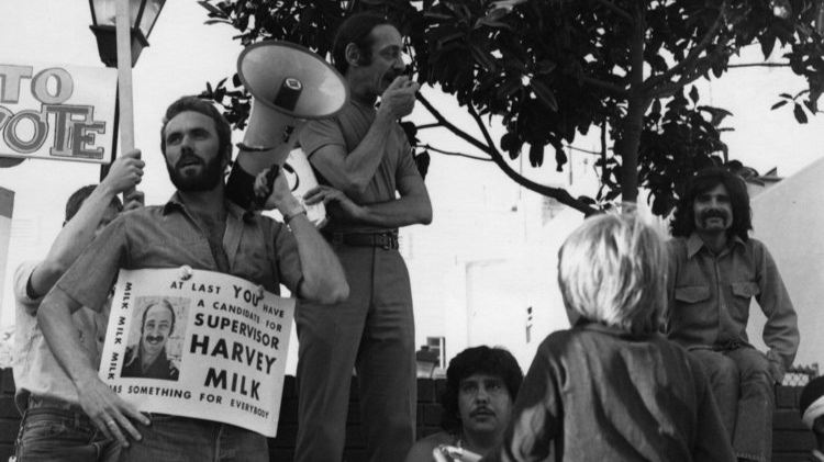 """""""Harvey understood that the LGBT community was part of something larger, and creating something special here will inspire others to carry on the global movement for peace and social justice.""""– Cleve Jones - Photo by Daniel Nicoletta"""