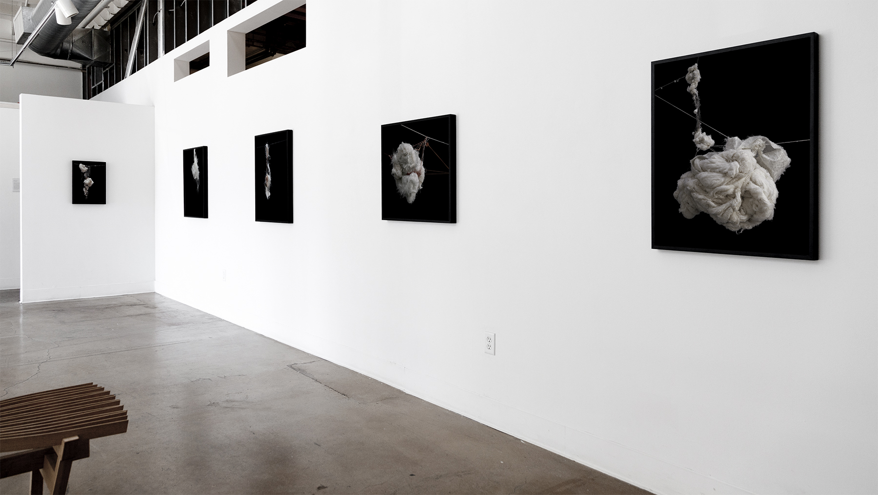 Installation view, Swarm Gallery, 2012