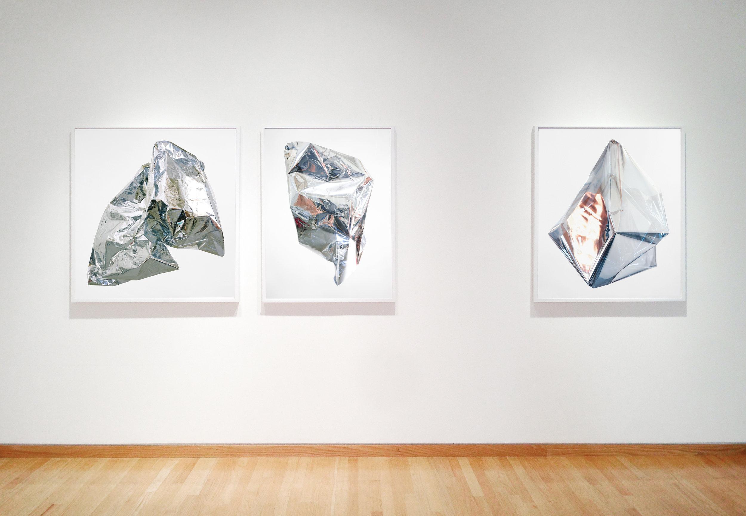 Installation view, Luminous at Stephen Wirtz Gallery 2013