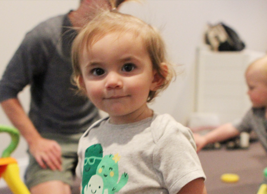 The Nursery - BIRTH THRU 2 YEARSLoving staff providing care, stories, and play time for infants or toddlers.