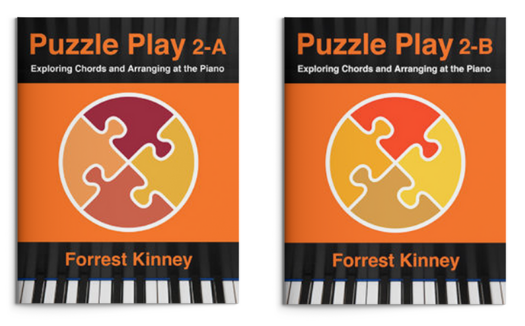 Puzzle Play Level 2 Piano Books, Forrest Kinney