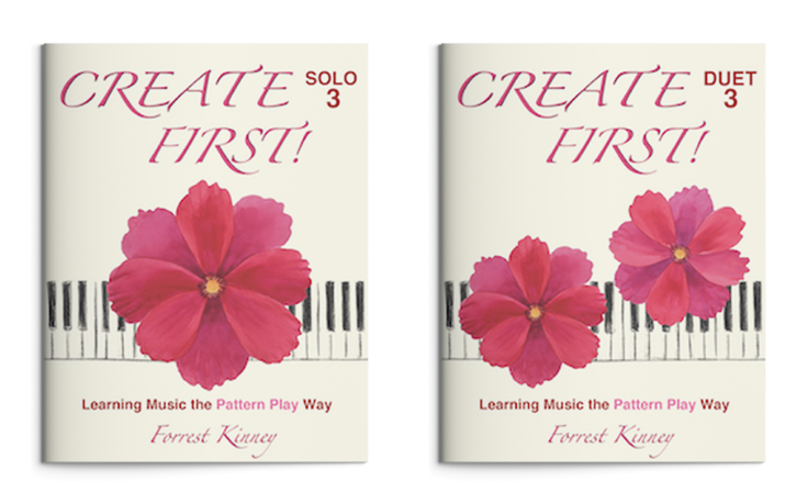 Create First! 3 Piano Book Set, Forrest Kinney