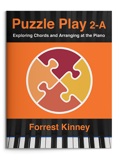 Puzzle Play 2-A Piano Book, Forrest Kinney