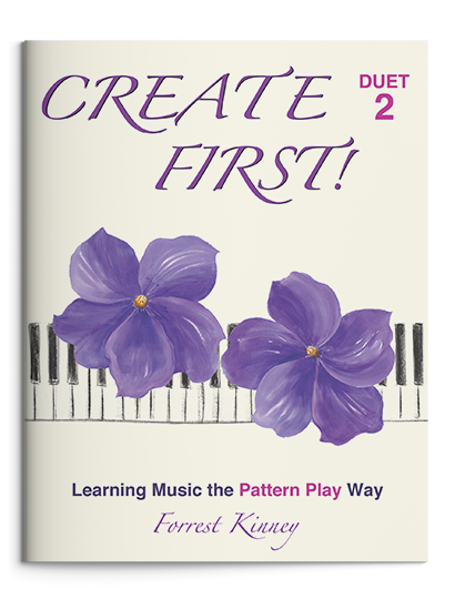 Create First! Duet 2 Piano Book, Forrest Kinney
