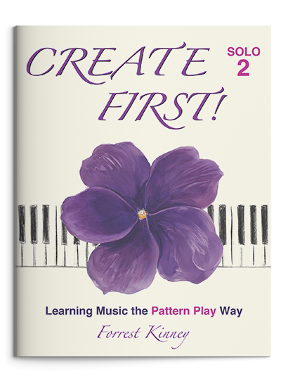 Create First! Solo 2 Piano Book, Forrest Kinney