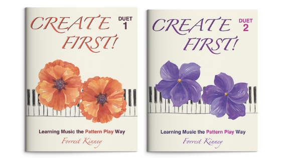 Create First! Duet Set, Piano Books 1 and 2, Forrest Kinney