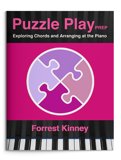 Puzzle Play Prep Piano Book, Forrest Kinney