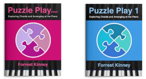 Puzzle Play Piano Book Set — Prep, 1, Forrest Kinney