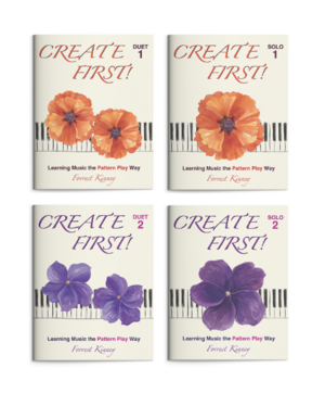 Create First! Duet and Solo 1 and 2 Book Set, Forrest Kinney