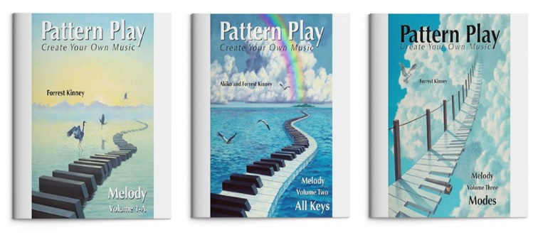 Pattern Play 3-Book Set, Forrest Kinney