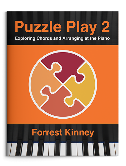 Puzzle Play 2 cover - Forrest Kinney piano arranging book