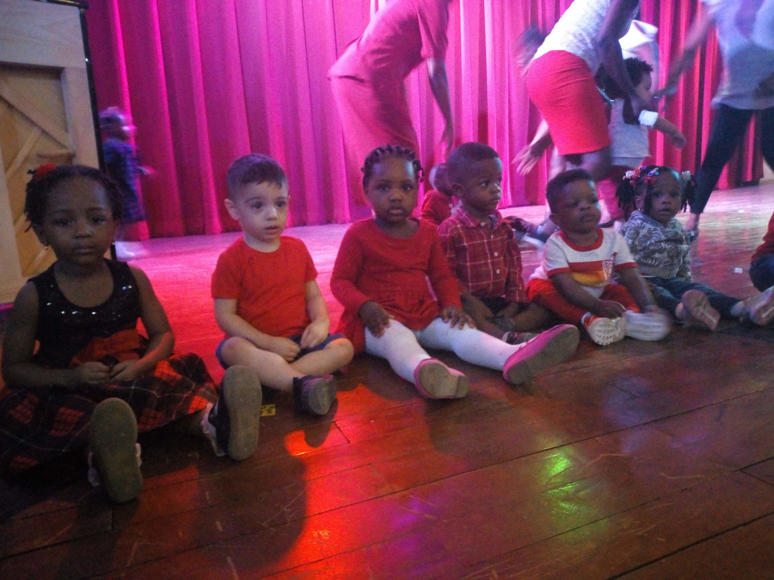 Preschool Valentine's Day celebration!