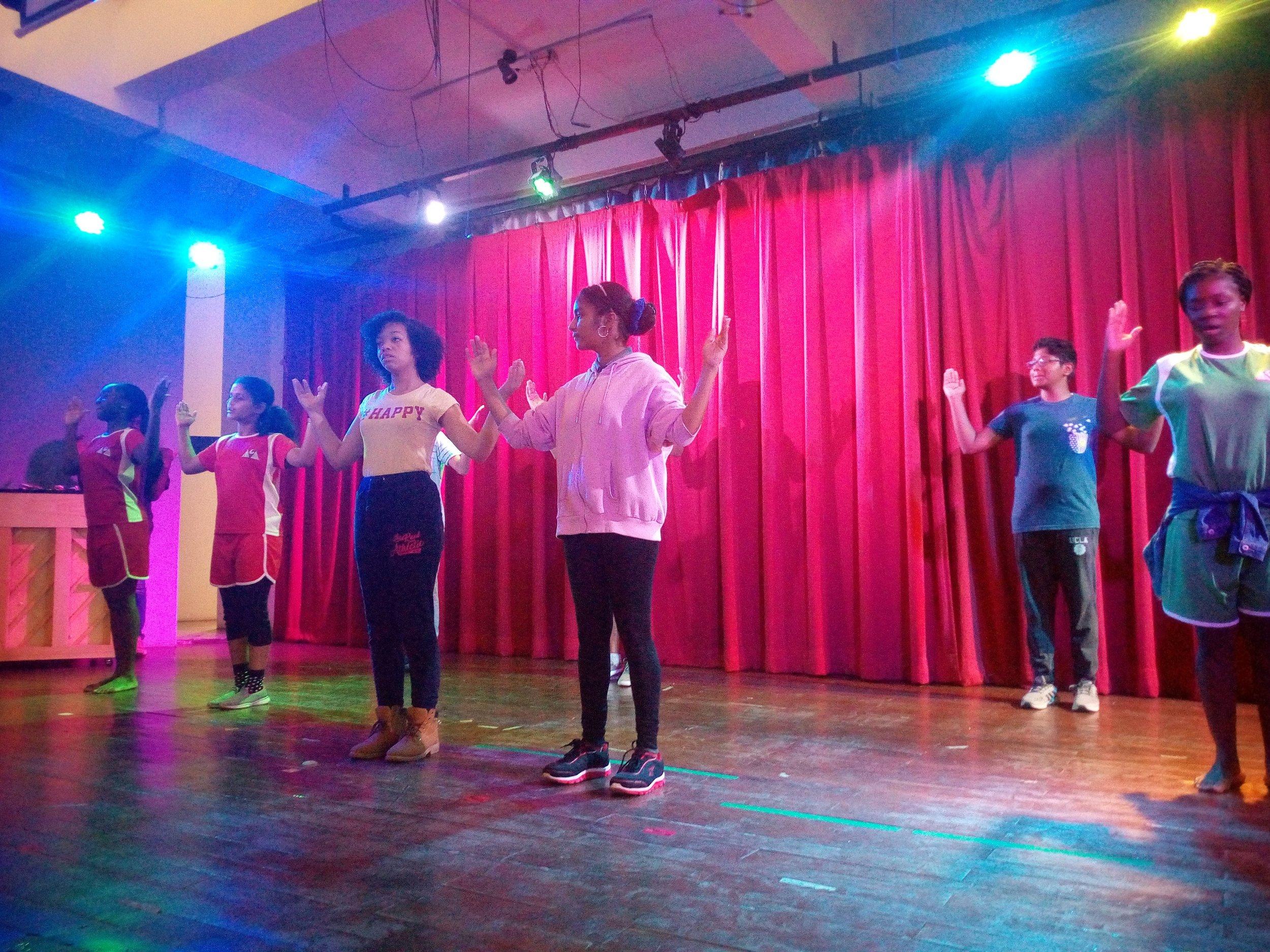 Hip-hop dance class!