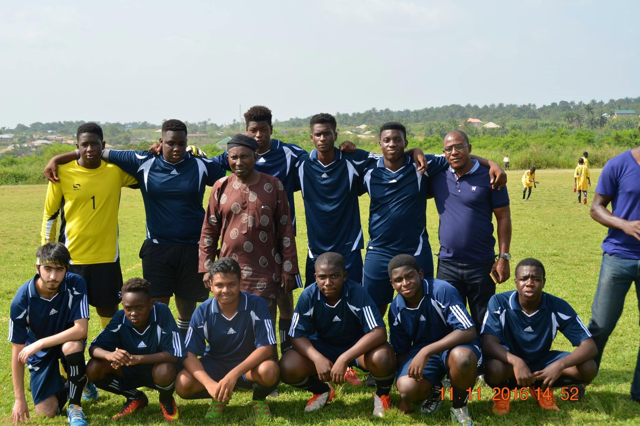 ACA Soccer team